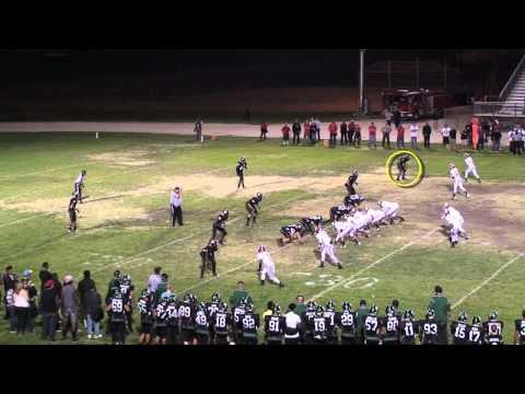 #5-Dameon Baber-RB/DB Palmdale High School-2013 Defensive Highlights