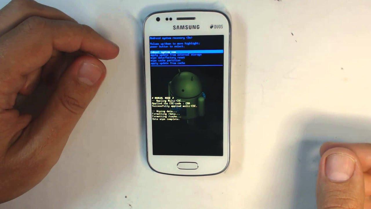 Как сделать скриншот на samsung s7562