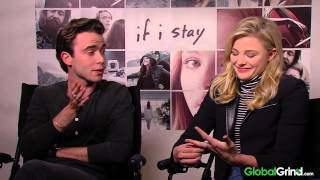If I Stay Interviews:Chloe Grace Moretz Talk Weird First Dates