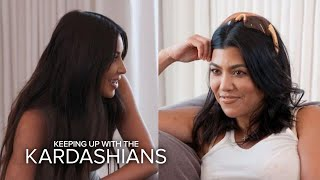 "Kim Clarifies Calling Kourtney the ""Least Interesting to Look At"" 