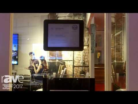ISE 2017: WEYEL Distribution Exhibits JOAN Electric Door Sign