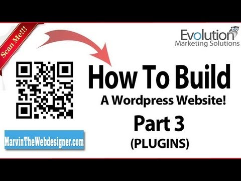 0 How to build your very own wordpress website from scratch! Part 3 (Plugins)