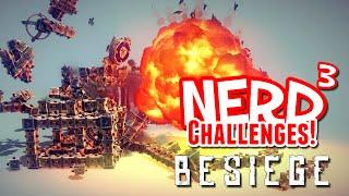 Nerd³ Challenges! Mono... D'oh! - Besiege