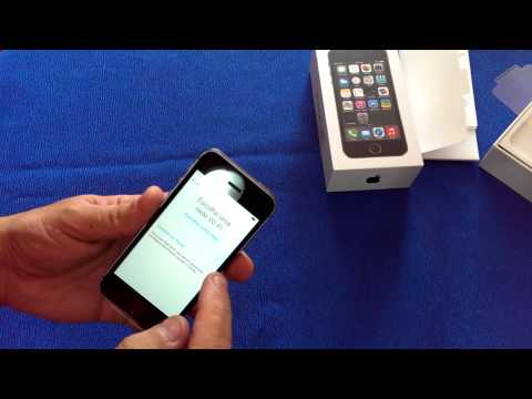 IPhone 5S unboxing Brasil.