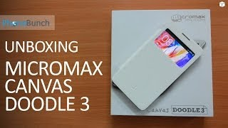 Micromax Canvas Doodle 3 A102 Unboxing and Hands-on Overview
