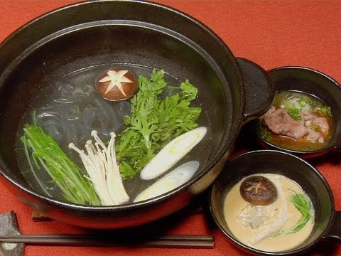 How to Make Shabu-Shabu (Japanese Beef Hot Pot & Porridge) Video
