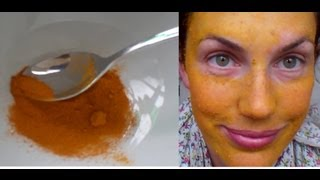 how to LIGHTEN your SKIN easily and NATURALLY with TURMERIC and LEMON - Vintagious