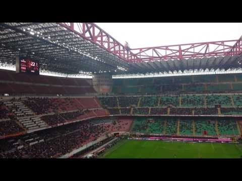 Música da torcida do Milan para Kaká, após o gol n. 100