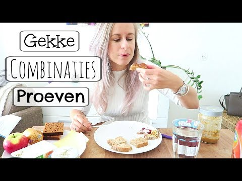 Gekke Combinaties Proeven:  Raarste soorten Broodbeleg!