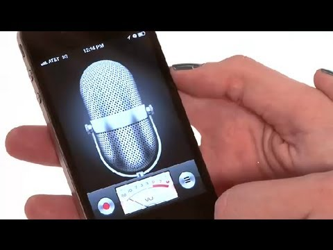 Recording Vocals for a Song With iPhone : iPhone Basics