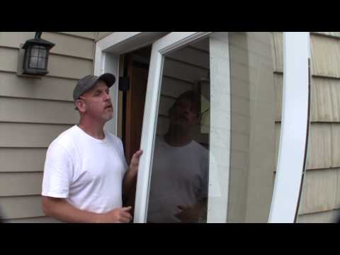 Install a larson storm door how to make do everything for Storm window installation