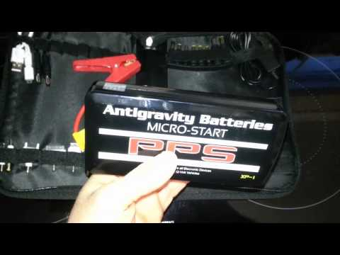 Starting a Car with Antigravity Batteries Micro-Start XP-1