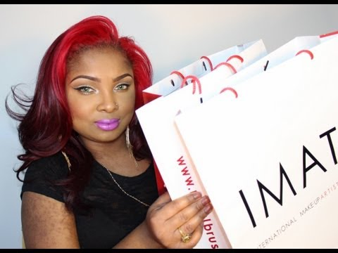IMATS NYC 2013!!! HAUL- WITH PICS AND CLIPS AT THE END!!!
