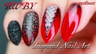 ☆ RWBY Inspired Nail Art Video ☆