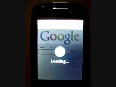 Google Android working on a HTC TyTN II