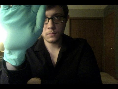 ASMR: Medical Exam Roleplay (Doctor Home Visit) (stereo!)