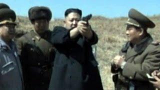North Korea releases video of Kim Jong-un firing a handgun