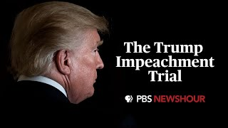 WATCH LIVE: Trump impeachment trial events begin in the Senate