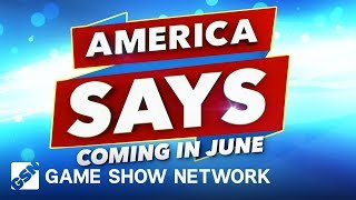 America Says | Coming this June | Game Show Network
