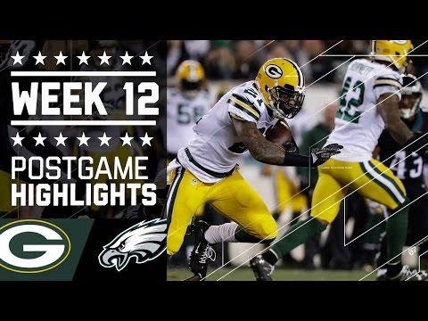 Packers Vs Eagles Nfl Week 12 Game Highlights