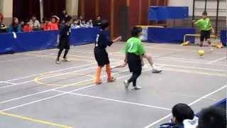 觀塘小學3人足球比賽2013年將軍澳官小VS路德會聖馬太學校