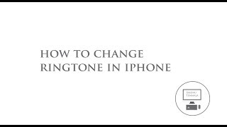 how to change iphone ringtone in itunes  in telugu
