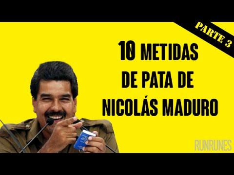10 metidas de pata de Nicolás Maduro (Parte III)