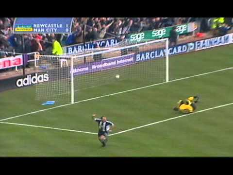 Alan Shearer 10 second goal.