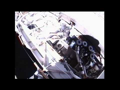 Spacewalking Astros Fix ISS Ammonia Leak