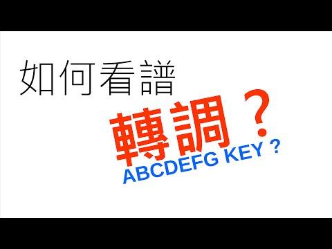 葉宇峻彈吉他#55 如何看譜轉調? Key Cahnge Tutorial