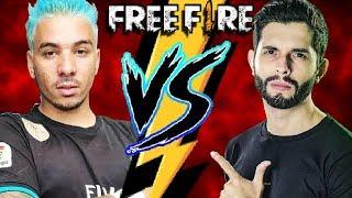 PIUZINHO VS PLAYHARD - BATALHA FREE FIRE