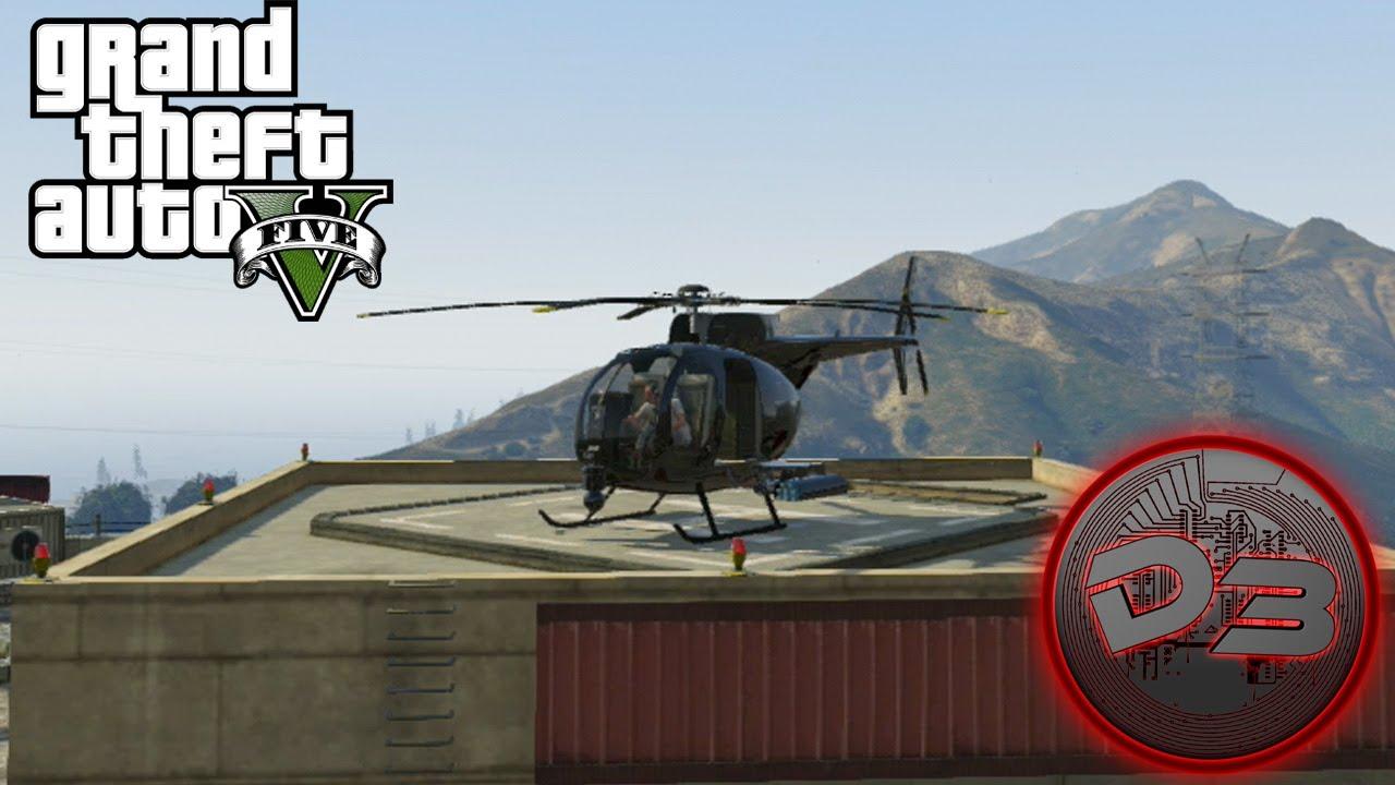 GTA 5 Secret Helicopter - $2,000,000 Buzzard Location ...
