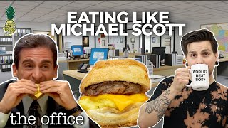 We Tried Eating Like Michael Scott For a Day