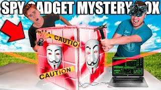 $10,000 SPY MYSTERY BOX!📦🕵🏻‍♂️Box Fort Bank Heist! Toys, Gadgets & More!