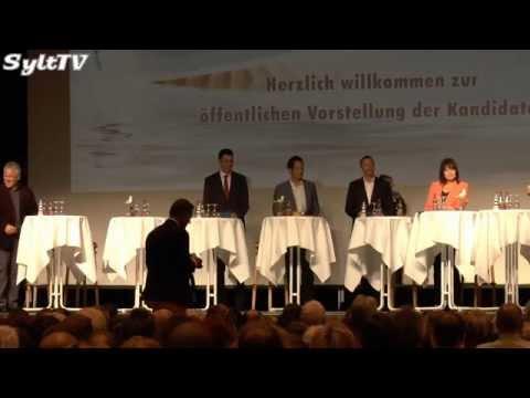 Kandidaten Bürgermeisterwahl Sylt stellten sich den Bürgern vor