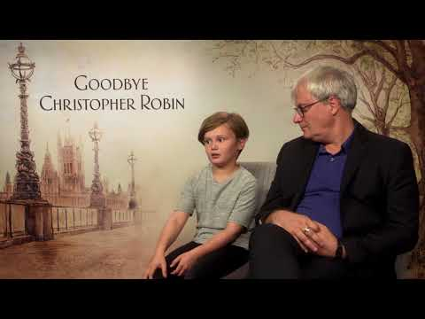 Goodbye Christopher Robin || Simon, Curtis & Will Tiltson Interview || SocialNews.XYZ