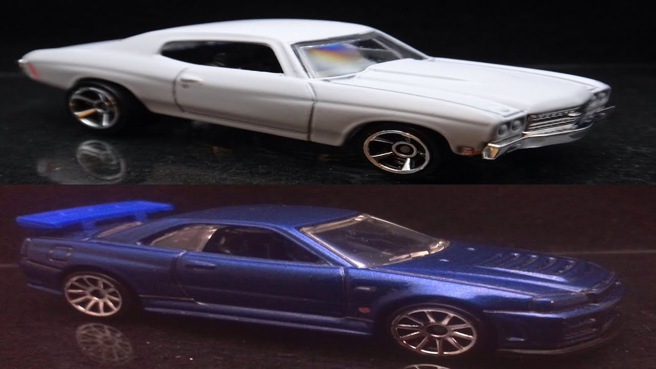 Hot Wheels The Fast and the Furious '70 Chevrolet Chevelle ...