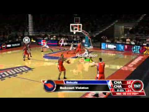 Cyber Watch TV - NBA 08 [gameplay][PSP]