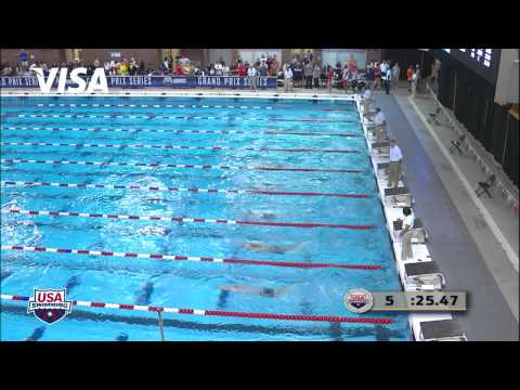Men's 100m Butterfly B Final - 2012 Columbus Grand Prix