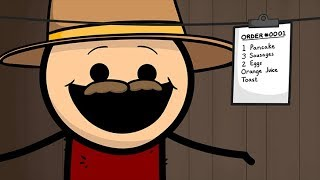Breakfast Cowboy - Cyanide & Happiness Shorts
