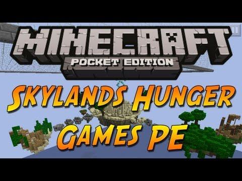 Minecraft PE Skyland Hunger Games Map