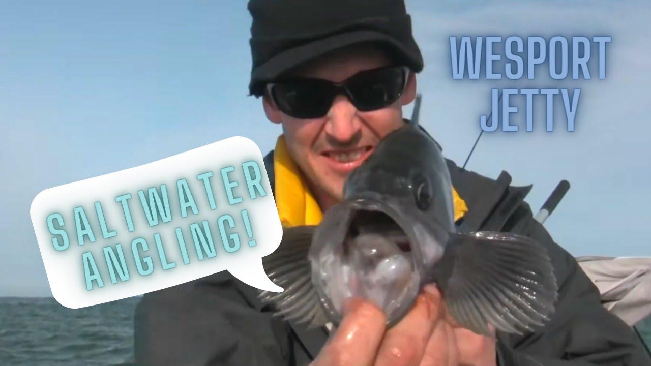 Westport jetty fishing youtube for Westport charters fishing report