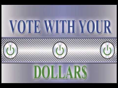 VOTE WITH YOUR DOLLARS test