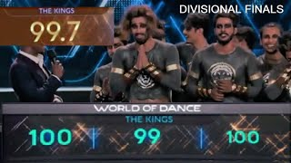 The Kings Winning Moment in Divisional Finals of WOD 19 with scores