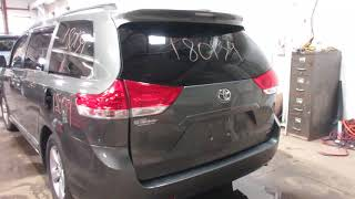 Parting out a 2011 Toyota Sienna - 180139 - Tom's Foreign Auto Parts