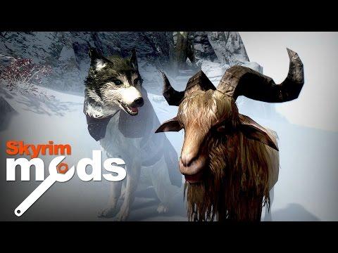 Goat Simulator In Skyrim - Top 5 Skyrim Mods of the Week