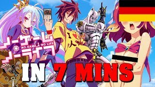 No Game No Life IN 7 MINUTEN (German/Deutsch Edition)