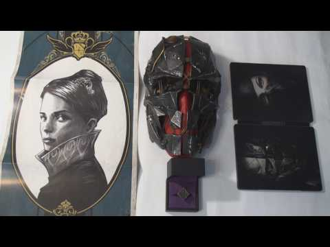 Распаковка Dishonored 2 Коллекционное Издание (COllector's Edition) UNBOX!