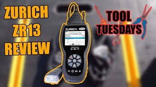 NEW Harbor Freight Scan Tool Review ZURICH ZR13