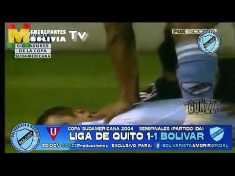 No te olvides SUSCRIBIRTE!!! Bolívar está hoy en una situación similar, pero a la vez muy diferente, de la magnifica campaña que realizó en la Copa Sudamericana 2004, cuando llegó hasta...
